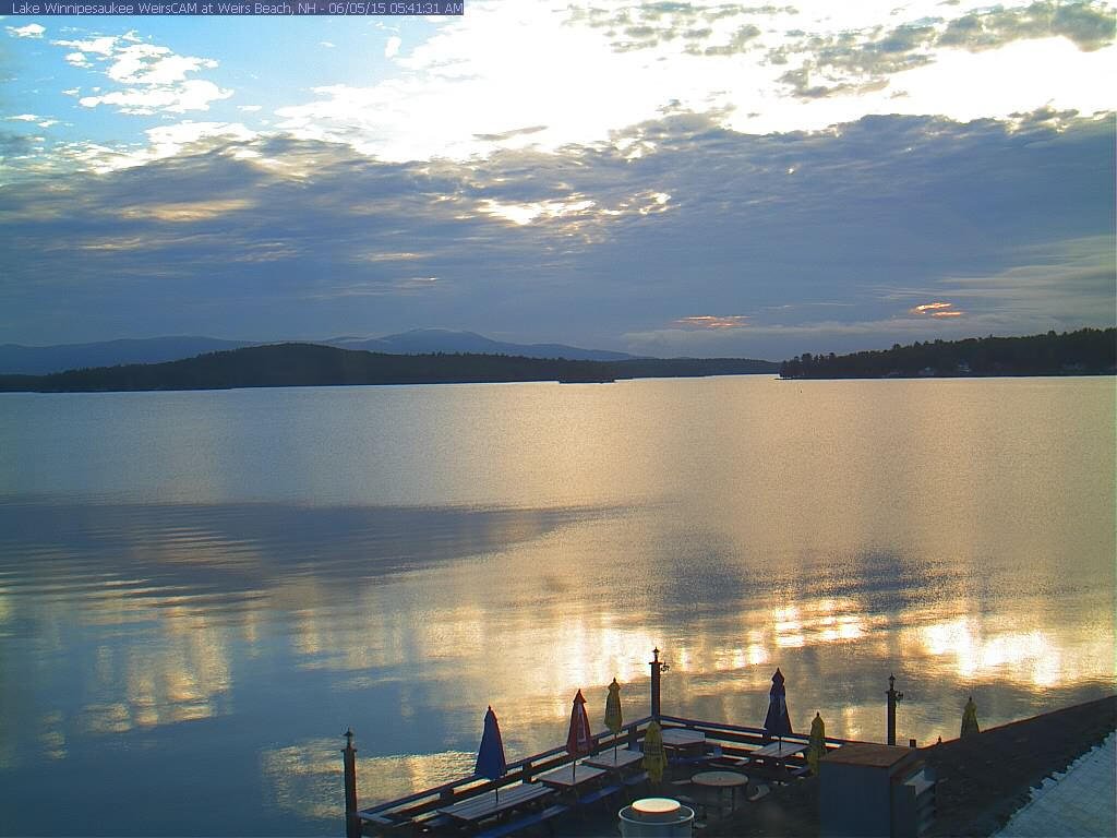 Lake Winnipesaukee Weirs beach cam