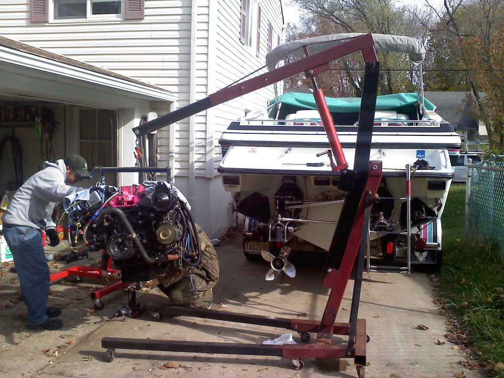 Engine Hoist Loner Or Rental Winnipesaukee Forum