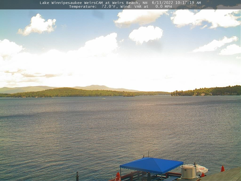 www winnipesaukee com - Lake Winnipesaukee WeirsCAM