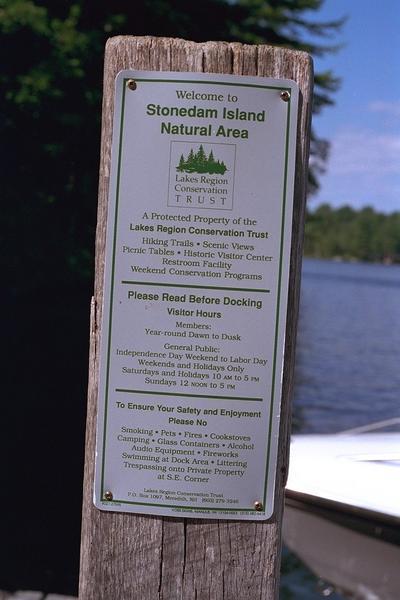 Stonedam Island approach - Winnipesaukee Forum